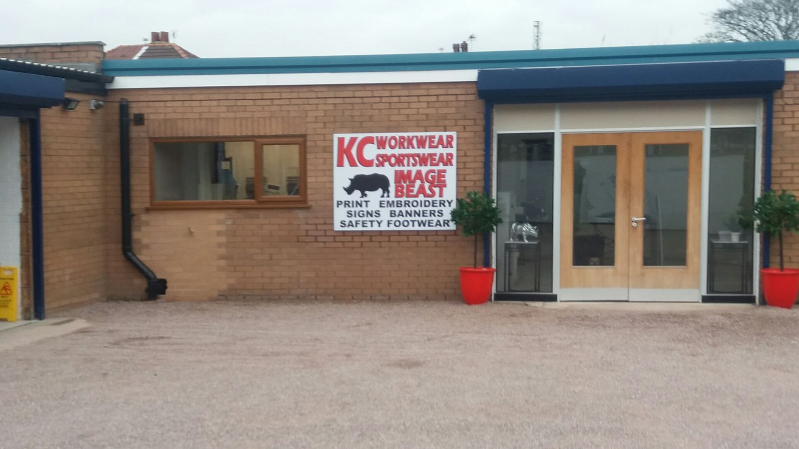 Office for KC Workwear in Birkdale, Southport, Merseyside.